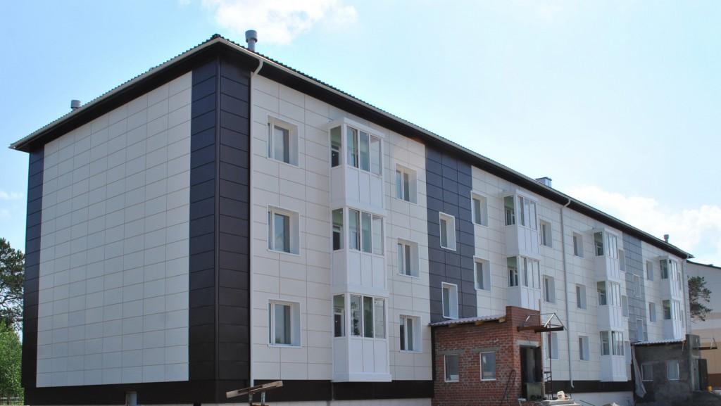 3 этажный жилой дом, г. Когалым