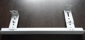 Система на Т-образном профиле с выдвижным кронштейном