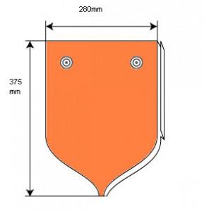 Штучная металлочерепица «рыбья чешуя»