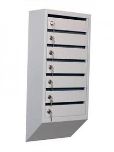 Металлический почтовый ящик (7 секций)